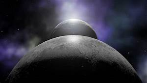 Futuristic Animation Space Ships And Planets Stock Footage ...