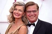 Hot Oscars couple! Paulina Porizkova and Aaron Sorkin