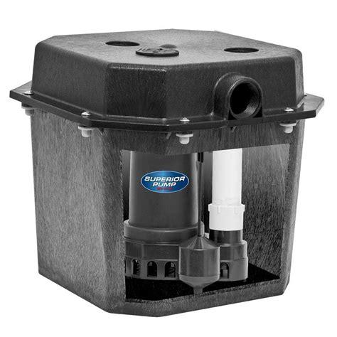 sump pump kitchen sink drain superior pump 92072 1 3 hp pre assembled submersible