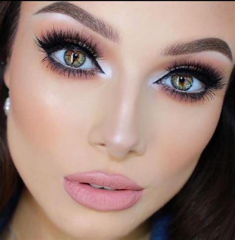 Как увеличить глаза с помощью макияжа советы визажистов пошаговая техника дневной и вечерний варианты Cтиль жизни современной женщины