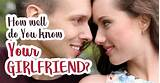 How Well Do You Know Your Girlfriend? - Quiz - Quizony.com
