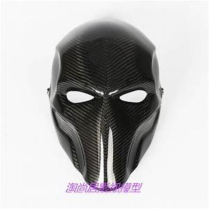 Cool Green Arrow Mask Carbon Fiber Full Face Mask Arrow ...