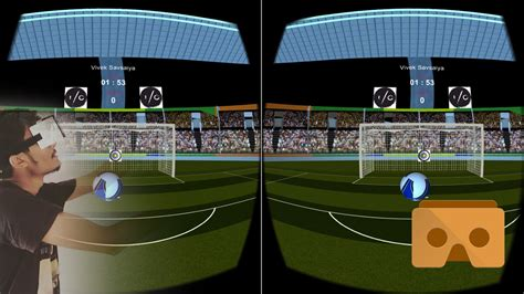 Vr Soccer Header Game  Vr 360 Soccer Header Game  Vr Soccer Game Youtube