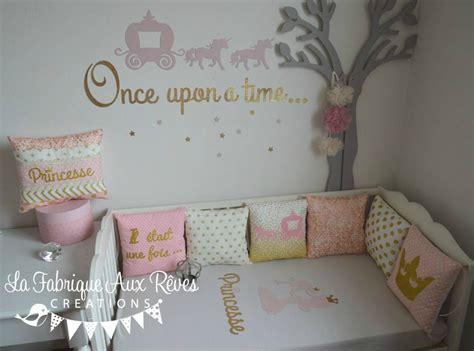theme chambre bebe fille décoration chambre enfant bébé fille princesse conte de