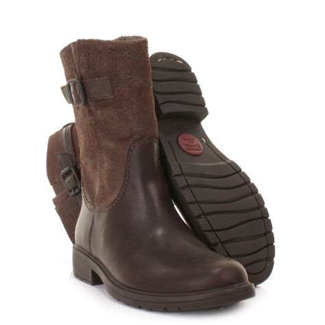 womens brown leather biker boots womens camper 1900 land brown leather biker casual ankle