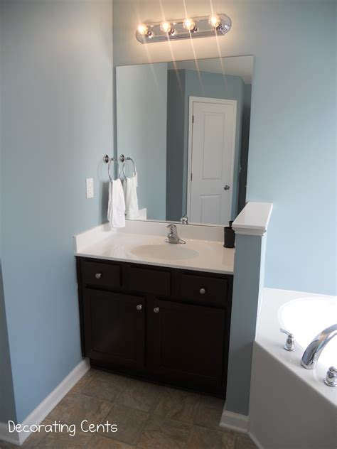 decorating cents  master bathroom  painted