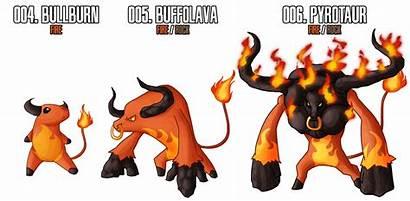 Starter Fakemon Fire Starters Mtc Deviantart Pokemon
