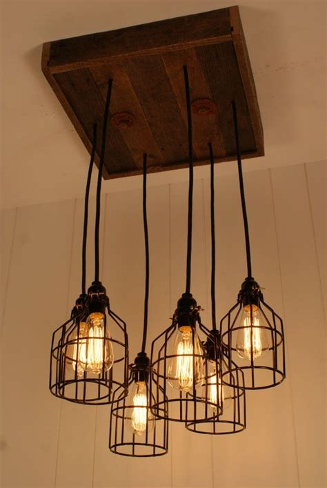 cage light chandelier cage lighting industrial