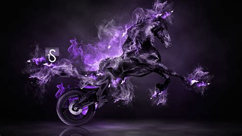 neon purple flames power fire  ducati diavel