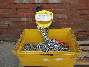 New Yale Vs111 Manual Chain Hoist 3000kg  3m Hol  U2013 Lifting