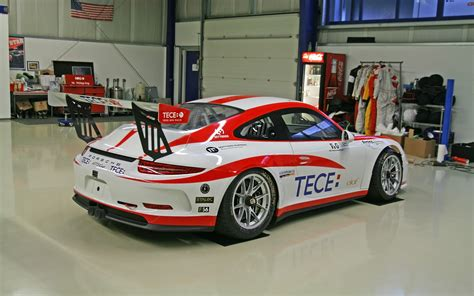 2014 Molitor Racing Systems Porsche 911-gt3 Cup Red Car