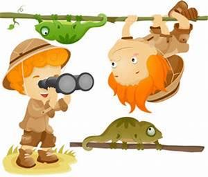 Stickers Animaux De La Jungle : stickers aventurier vente stickers animaux de la jungle pour enfants decore ta chambre ~ Mglfilm.com Idées de Décoration