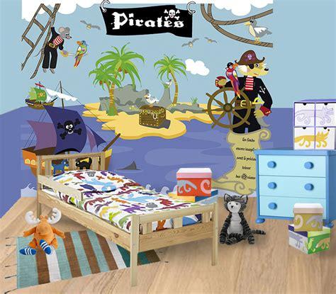 chambre pirate decorations murales pour chambres d enfants frenchkids