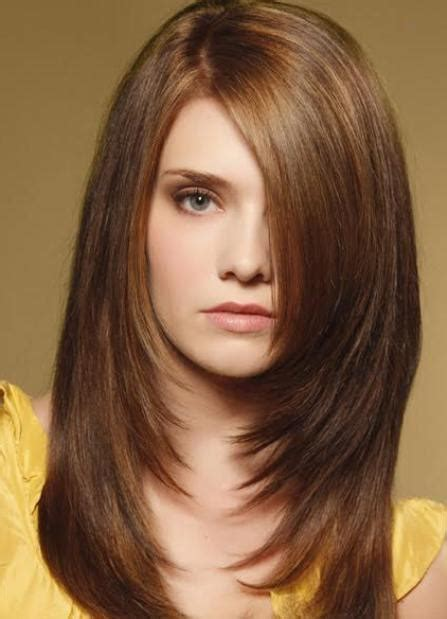 medium length haircuts  thick hair