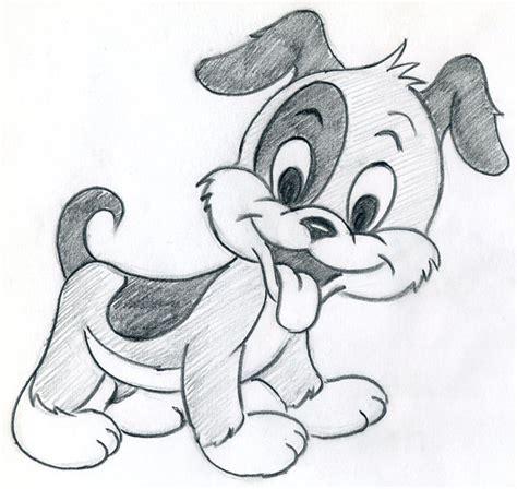 draw cartoon puppy  cute