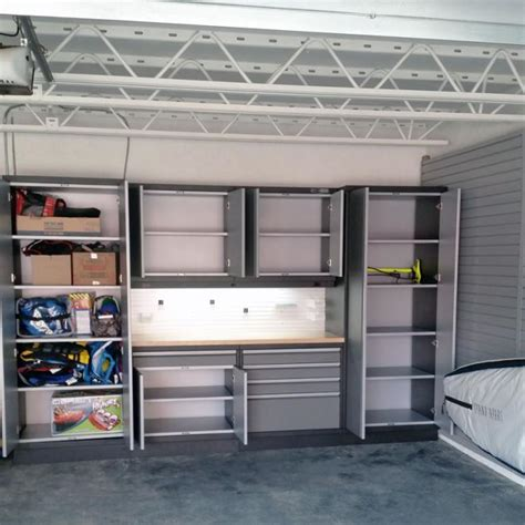 Garage Organization Kelowna garage wall cabinets kelowna shelving units storage racks