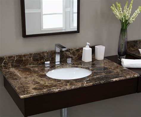 marble vanity tops emperador 49 inch marble vanity top