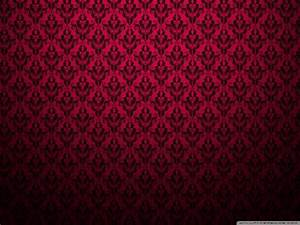 Red Pattern Background Desktop