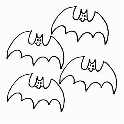 Coloring Halloween Bat Bats Disegni Colorir Fledermaus