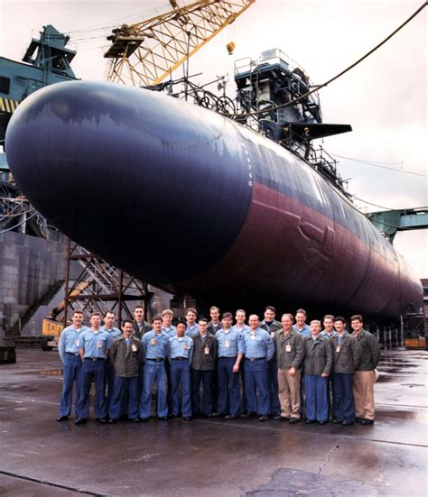 Electric Boat Bremerton Wa by Nuclear Powered Attack Submarine Uss Archerfish In Drydock