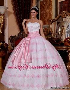 pink and white puffy quinceanera dresses 2016-2017 | B2B ...