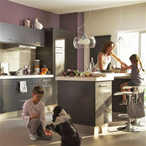 idee deco salon cuisine ouverte décoration cuisine ouverte sur salon