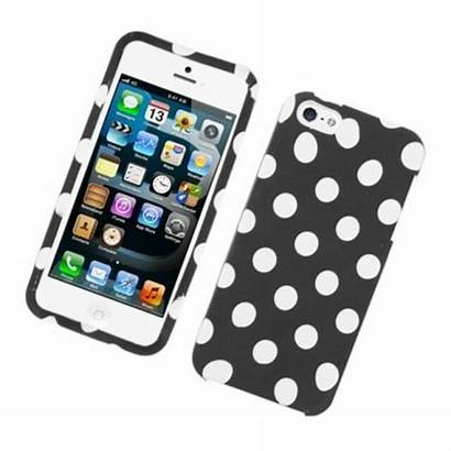 Iphone Plastic 5s Polka Case Dots Apple