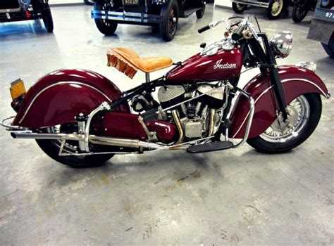 This Is A Fully Restored 1948 Indian Chief Bonneville