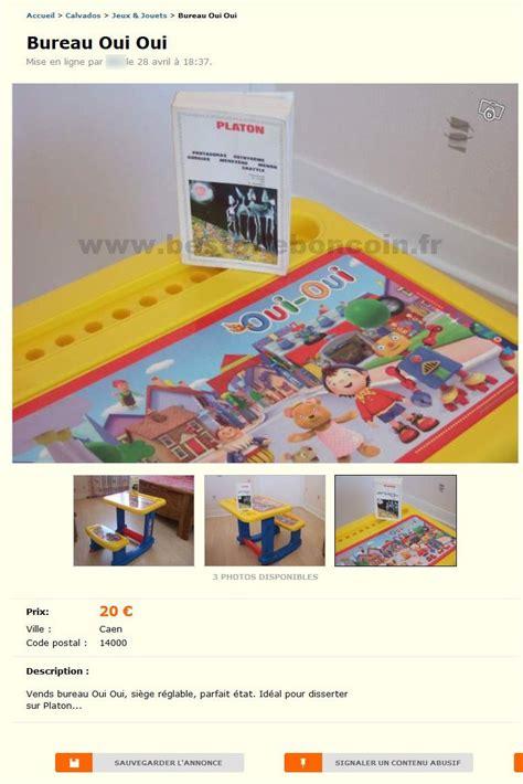 bureau oui oui bureau oui oui jeux jouets basse normandie best of