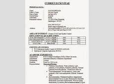 Best Resume Formats For India – Download