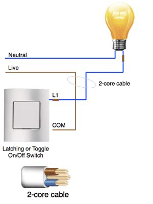 how do external circuits in light switching units such as