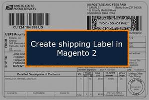 how to create shipping labels in magento 2 magento explorer With create usps shipping label online