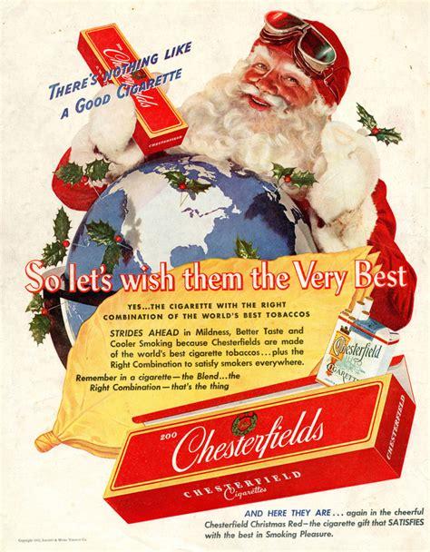 Cigarettes from Santa: Vintage Tobacco Christmas ...