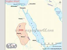 Kingdom of Kush, Map