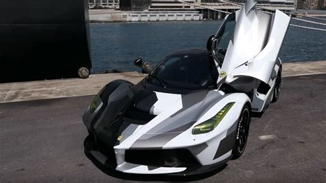 The objective was to increase aerodynamic efficiency, deliver ideal weight distribution. Ferrari LaFerrari camouflage - Unique en son genre