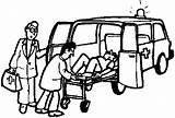 Ambulance Coloring Pages sketch template