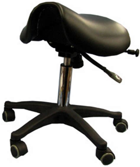ergonomic saddle seat chair dental vinyl stool ebay
