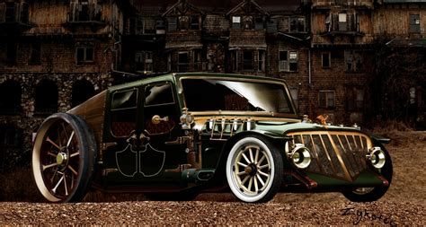 Steampunk Cars  Wwwimgkidcom  The Image Kid Has It
