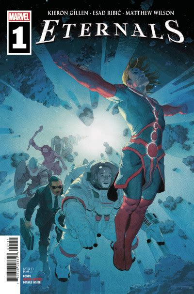 Eternals #1 Reviews (2021) at ComicBookRoundUp.com