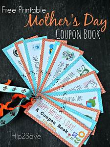 Free Printable Mother's Day Coupon Book – Hip2Save