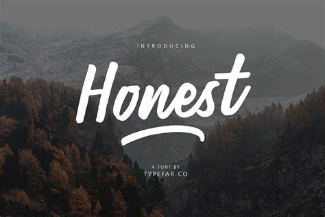Honest Script - Fontlot.com