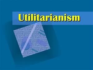 utilitarianism - DriverLayer Search Engine
