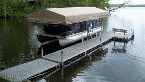 Pontoon Boat Lifts For Sale by Dock Rite Boat Lifts Marine Dock And Lift Center City
