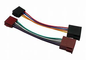 Car Stereo Universal Iso To Iso Wiring Loom Harness Lead