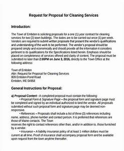 Cleaning service proposal templates 7 free word pdf for Cleaning services proposal letter