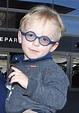 Jack Pratt at the airport with mom Anna Faris - Growing ...