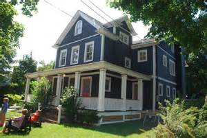 wrap around front porch wrap around porch northport n y with cabot 39 s slate gray