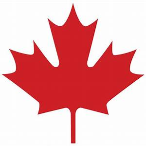 Canadian Maple Leaf Clipart - ClipartXtras