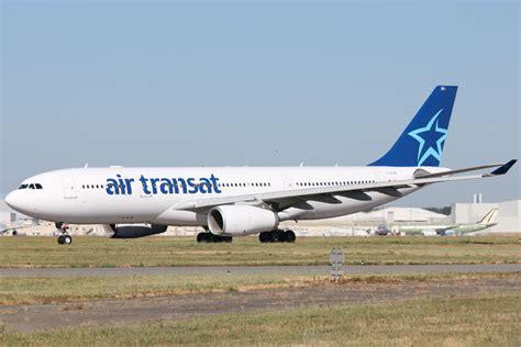 air transat toulouse montreal a 233 roport toulouse blagnac lfbo airbus a330 232 air transat c gtsr mes photos d avions d