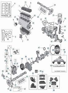 Yj Wrangler 2 5l 4 Cylinder Engine Parts